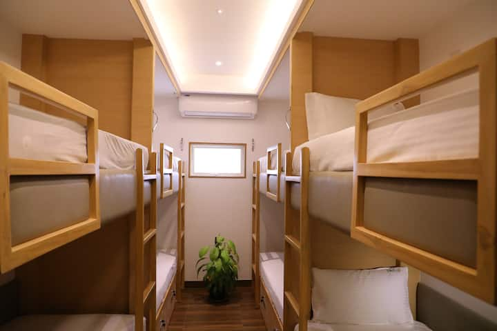 A/C Bunk Bed Room in Freshup Tiruvannamalai
