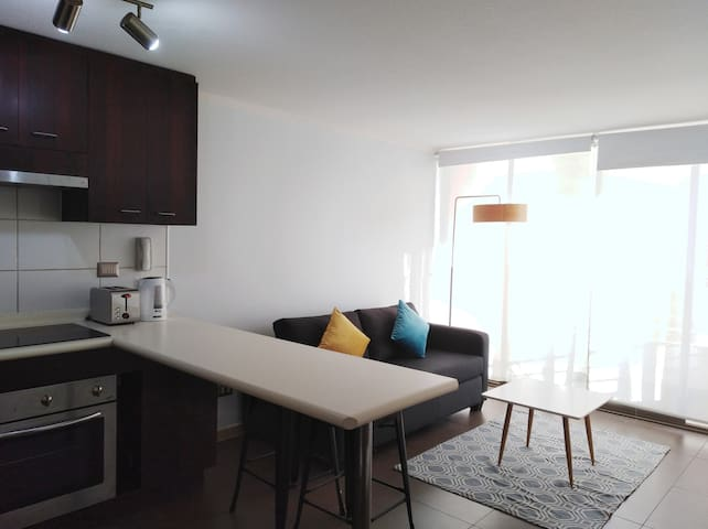 PISO 7, 1 Dormitorio - Av. S. Allende/Rendic