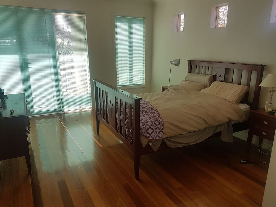 Main bedroom with onsuite