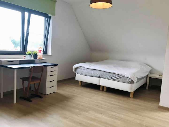 Lagom Cocoon Cozy top floor bedroom