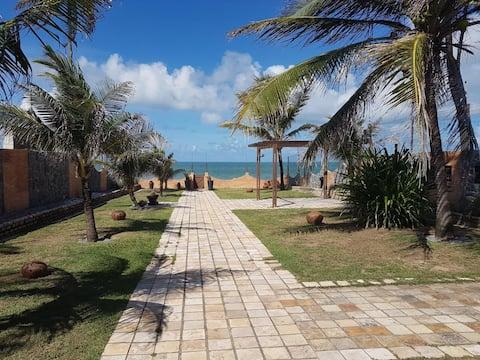 PRAIA DE MURIU -  Casa dos sonhos em frente ao mar