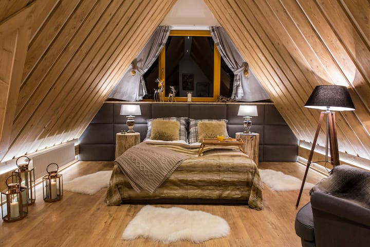 """Wyjątkowo przytulny apartament """"Marmot 7"""" Zakopane"""