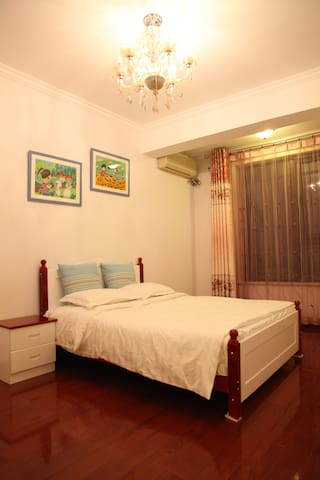 Green Sunny Townhouse: Single bedroom B for rent - Tianjin - Villa