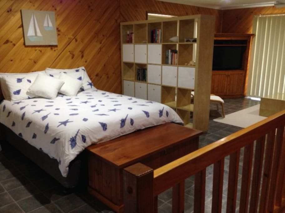 upstairs bedroom and retreat