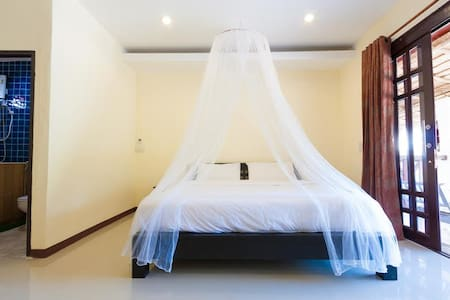 Superior room  with Hammock seaview Terrance (1) - Aamiaismajoitus