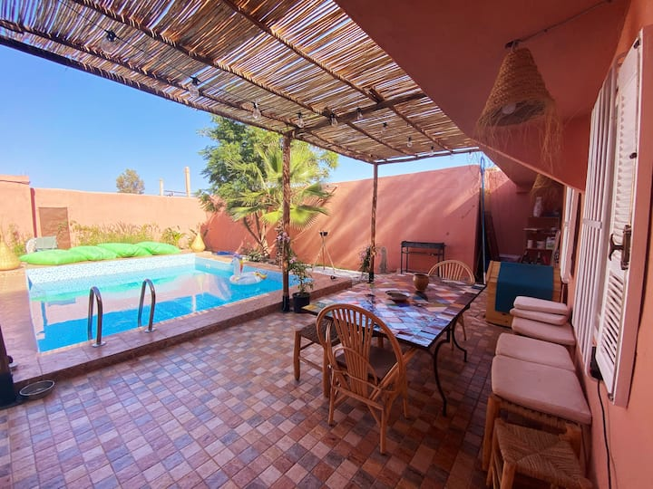 Lovely house with private pool in Marrakech