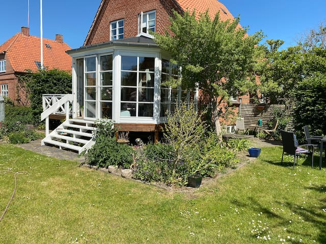 Villa centralt i Roskilde til leje på ugebasis