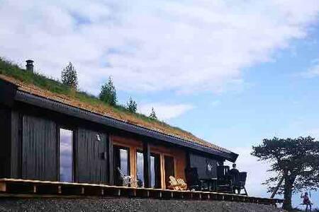 Splitter ny hytte i Trollheimen