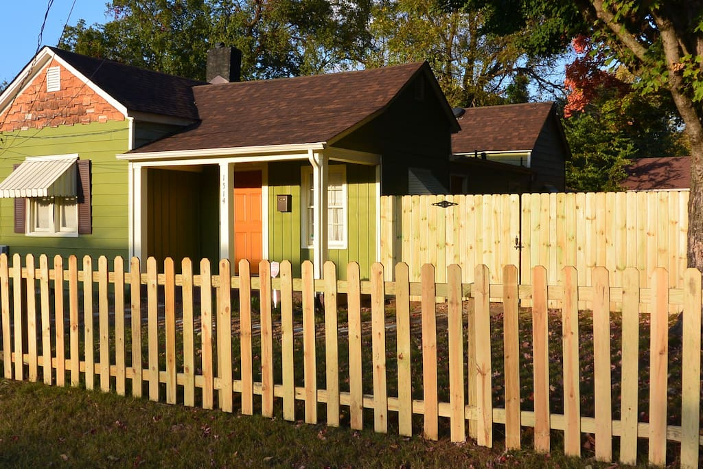 Picket fence and private backyard, just the beginning of this wonderful cottage located minutes from downtown Nashville.