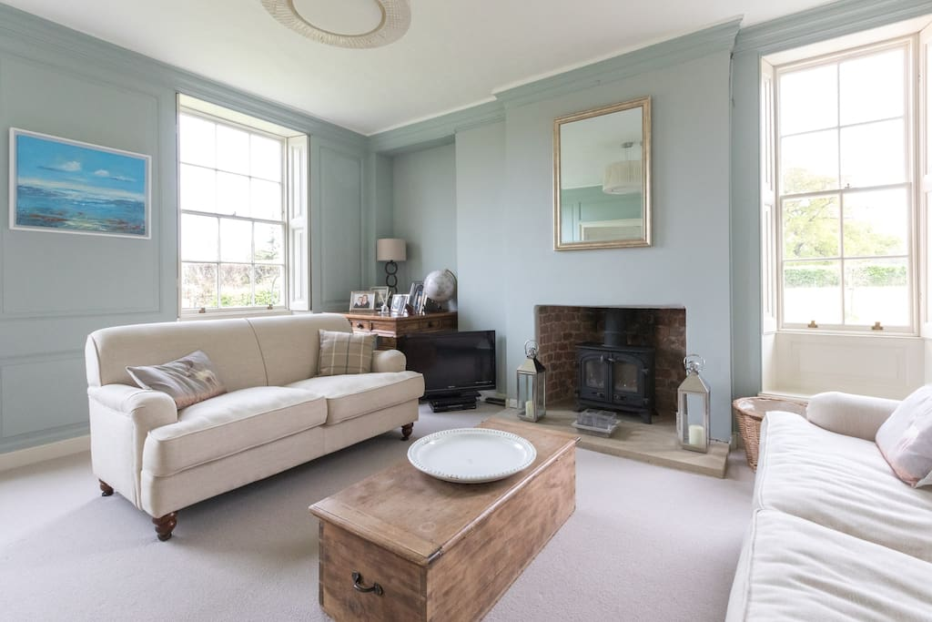 Your private sitting room