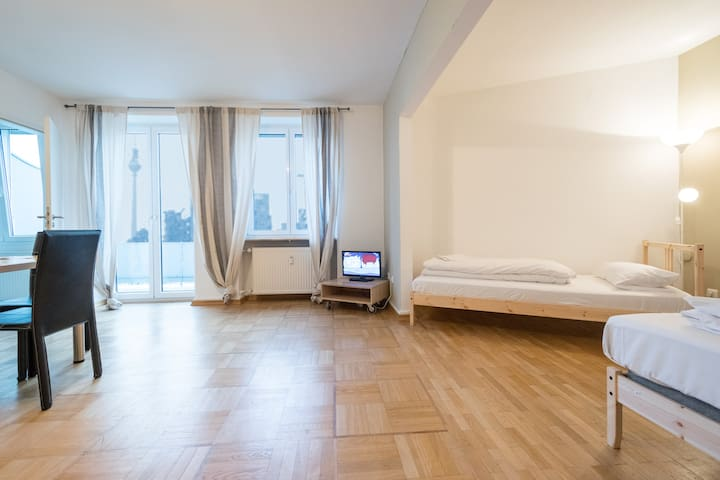 YOUR PLACE next MESSE /TRAIN STATION /CITY CENTER - Frankfurt am Main - Apartamento