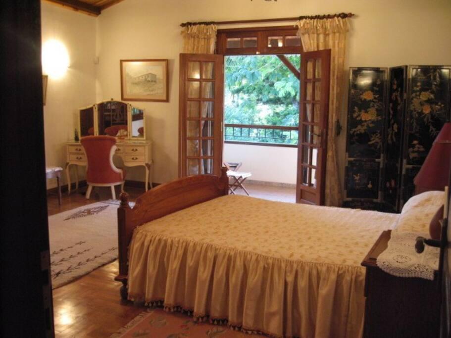 Masters Bedroom with Balcony