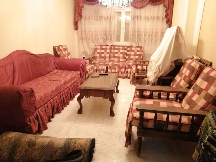 Apartment fully funished for egyptian students
