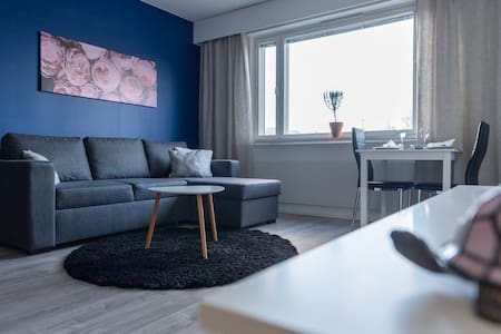 2020 renovated studio apartment in Joensuu centre