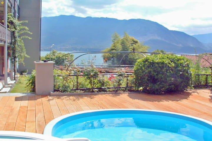 Peaceful Apartment with Pool in Verbania Italy