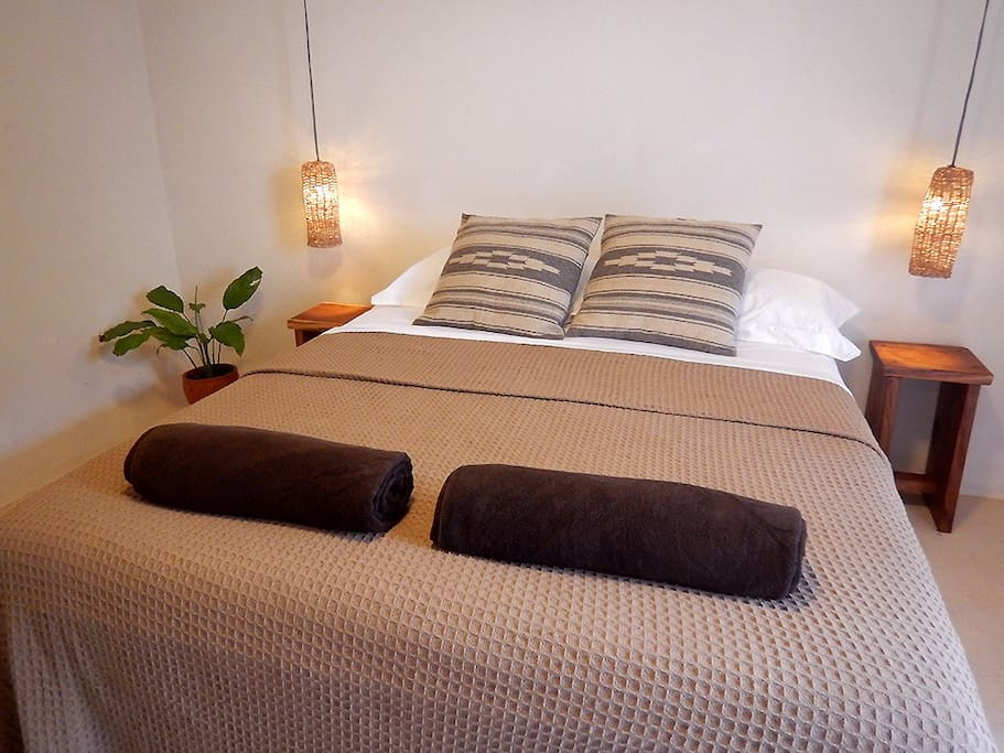 Comfortable and spacious bedroom