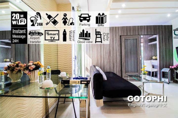 Gotophi Luxurious 5Star hotel Gramercy Makati 5527
