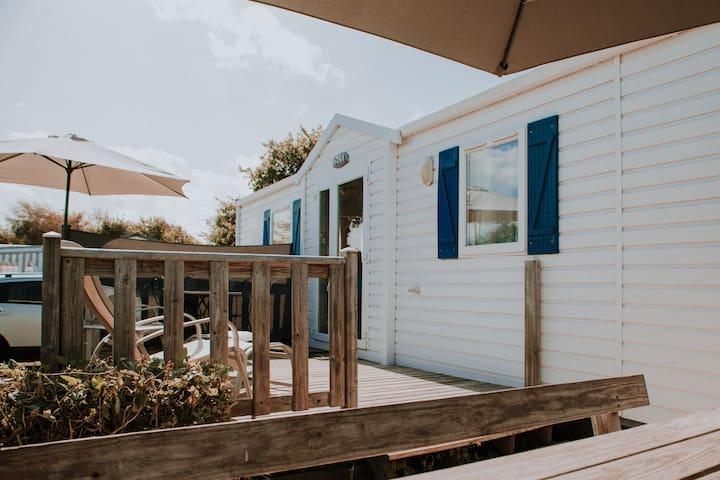 Saint-Jacut-de-la-Mer : Mobil-home proche mer