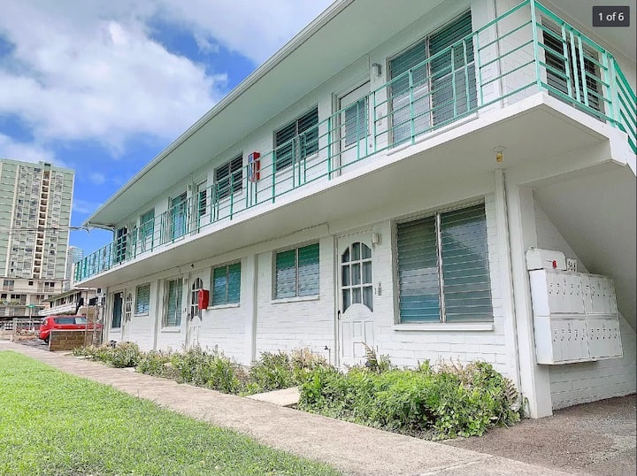Minutes to Waikiki, convenient at a great price.