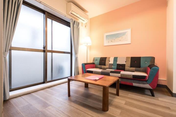 NEW Shinjuku Cozy 1 Bedroom upto 4, pocketWiFi