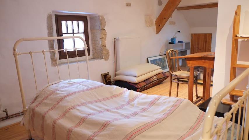 Maison ancienne bucolique pleine de charme - Châtillon-en-Michaille - House