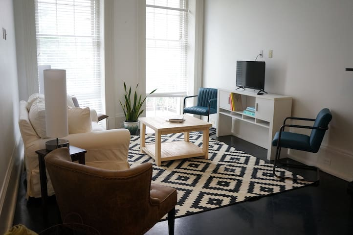 Beautiful Balcony Flat in Downtown New Orleans - New Orleans - Apartemen