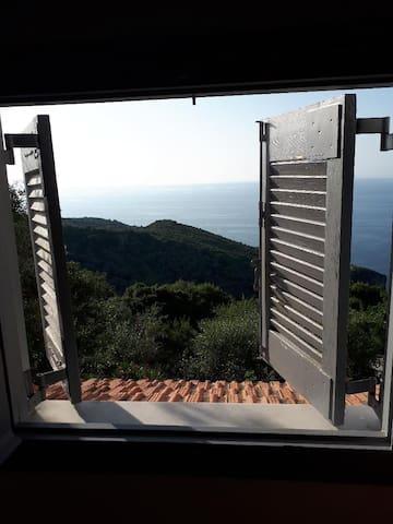 Ausblick aus dem Schlafzimmerfenster