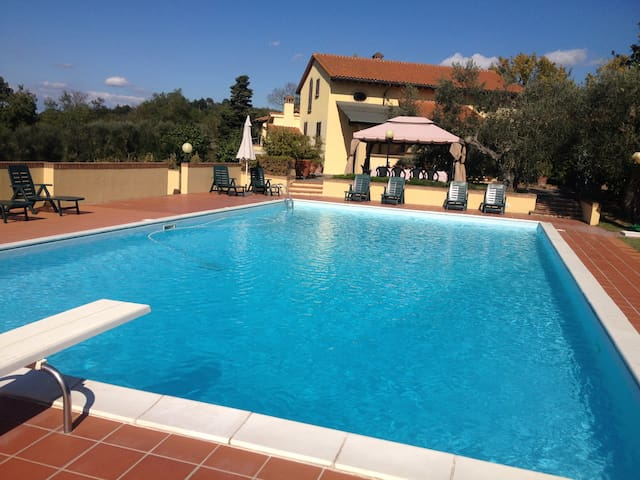 Villa Doveri Ceppeto - Tuscany, with large pool - Palaia - Vila