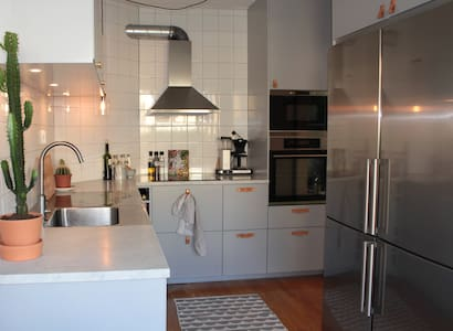 Modern and cosy townhouse near the beach - Vendelsö