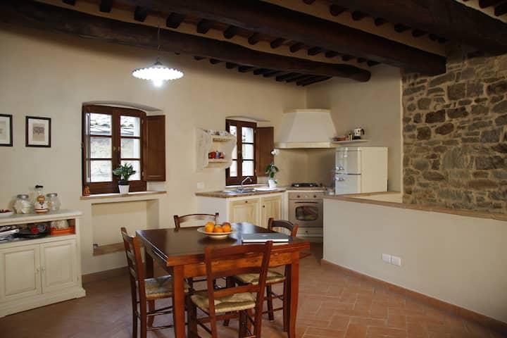 apartment in the Center of Cortona