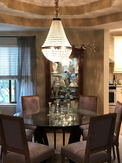 Shared dining room for your convenience
