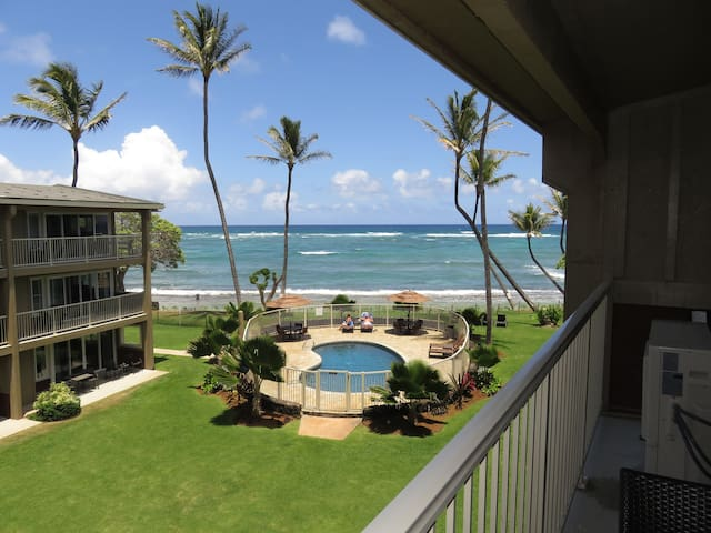 Direct Oceanfront Kauai Kailani 307 - LOADED !!