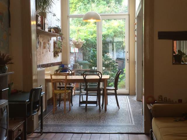 Charmante gezinswoning met tuin. - Antwerp - House