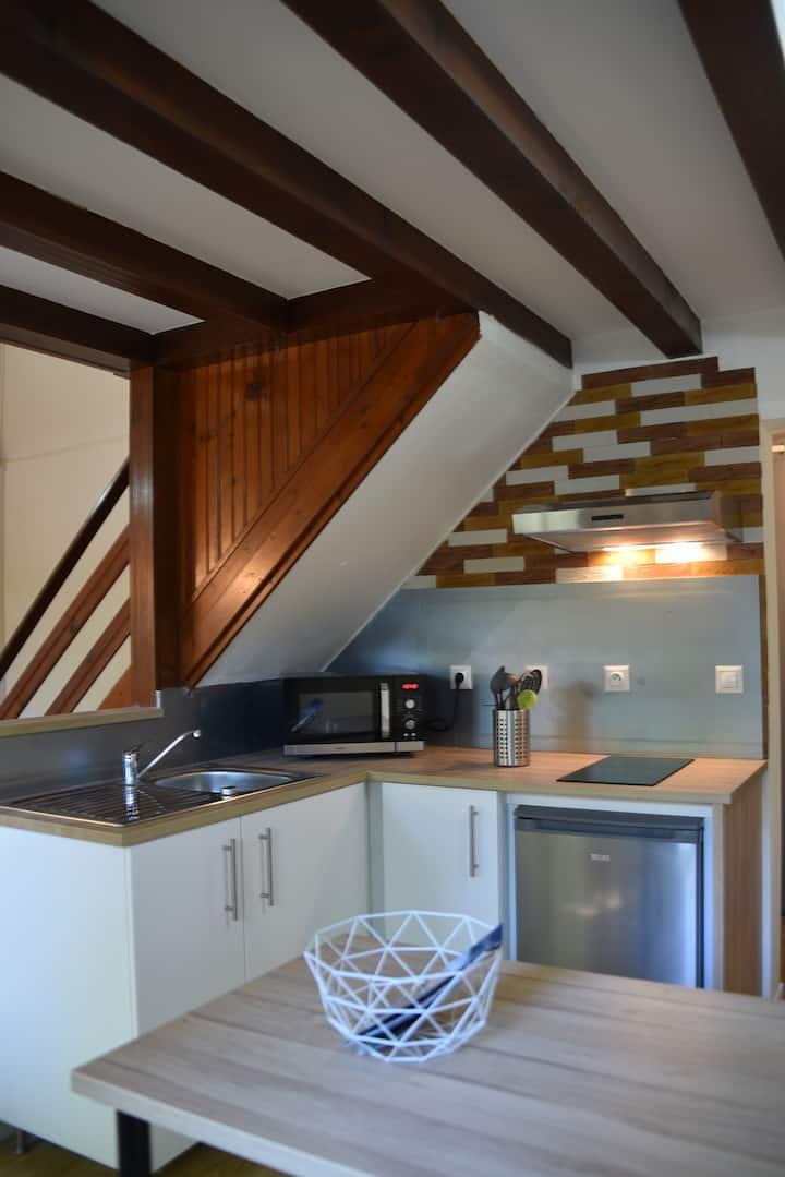 Studio confortable de 32m2  à La Roche Posay.