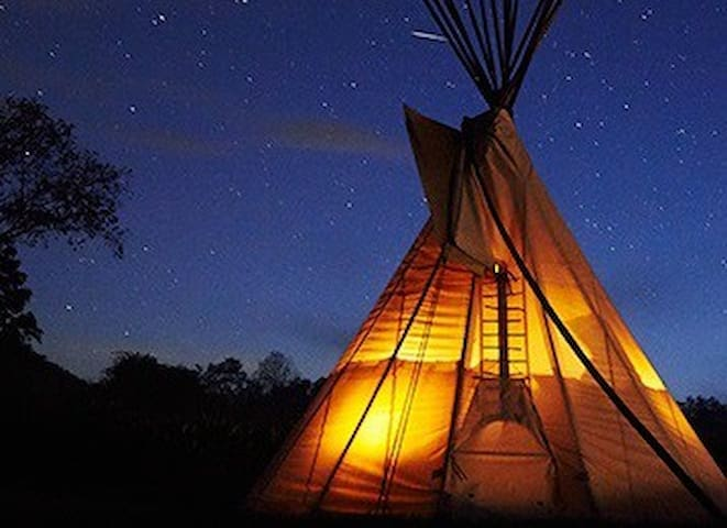 Enchanting Tipi Camping experience like no other!