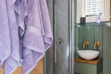 Luxury towels.