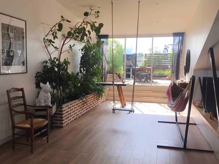 Loft spacieux et confortable