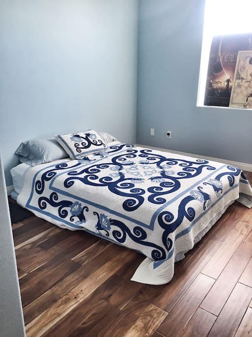 New Organic Bed Comfy!