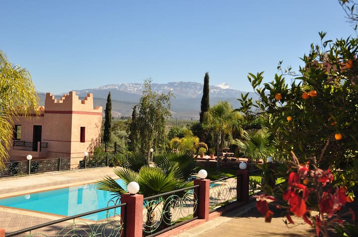 Amazing Bed&Breakfast with swimming pool in Ourika
