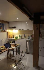 Atelier d'artiste 150m2 + terrasse - Aubervilliers