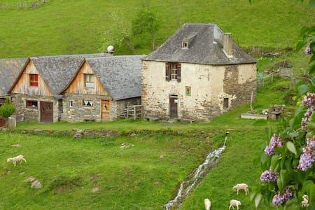 """La grange d'Arlette à """"Eylie d'en haut"""" - Sentein - ที่พักธรรมชาติ"""