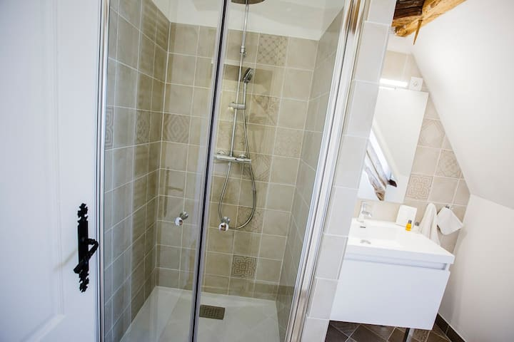 Chambre Angélique La salle de douche