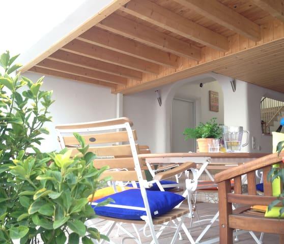 Ferienwohnungen wie im Süden Großostheim - im Dach