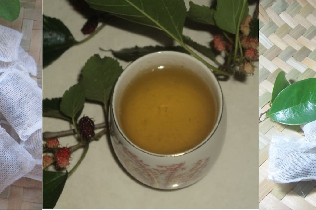 Unlimited supply of leaves for tisane/ herbal drinks everyday!