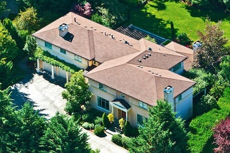 Luxury Mansion near Bellevue Downtown - Medina - Casa