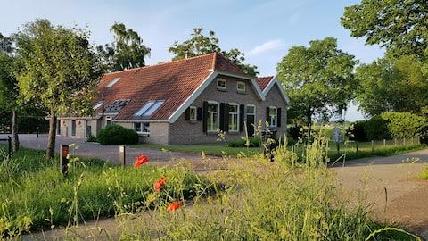 Gezellig achterhuis in Drenthe