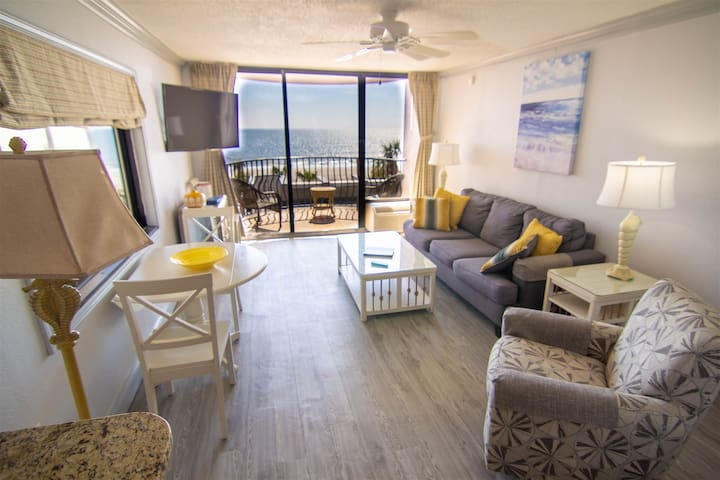 Beautiful End Unit Oceanfront in the heart of Myrtle Beach indoor and outdoor pools 203