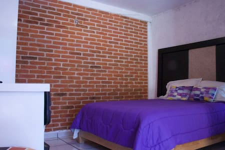 Bedroom near the airport of the city of Mexico