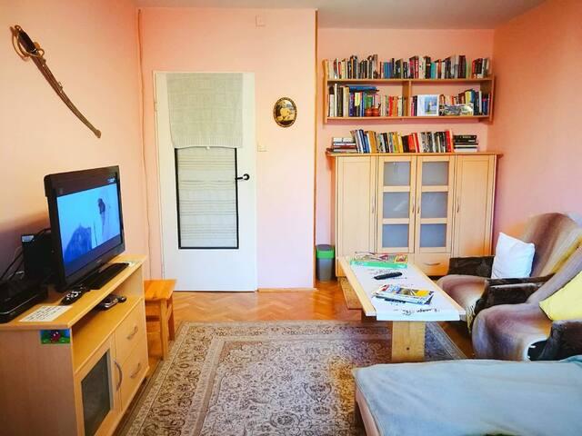 Mieszkanie w bloku z wielkiej płyty