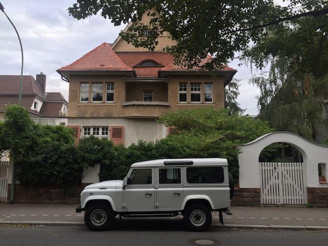 Denkmalgeschützte Jugendstilvilla - Friedberg (Hessen) - Villa